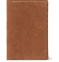Want Les Essentiels Pearson Nubuck Passport Cover Tan