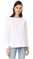 Club Monaco Lamae Top Pure White