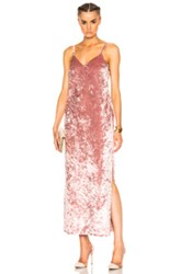 Theperfext Fwrd Exclusive Camila Slip Dress In Pink