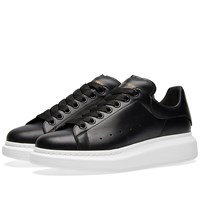 Alexander Mcqueen Wedge Sole Sneaker Black