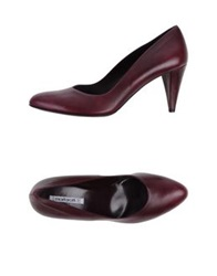 Mortarotti Montenapoleone Pumps Deep Purple