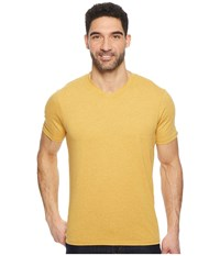 Prana R V Neck Tee Marigold Short Sleeve Pullover Yellow