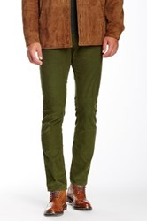 Bonobos French Corders Slim Pant 30 34' Inseam Green