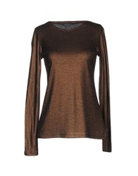 Laura Urbinati T Shirts Brown