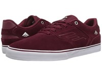 Emerica The Reynolds Low Vulc Red White Gum Men's Skate Shoes