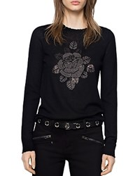 Zadig And Voltaire Miss Bis Cashmere Sweater Black