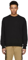 D By D Black Back X String Sweatshirt