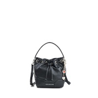 Love Moschino Leather Lock Heart Bucket Bag