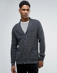 Esprit Shawl Collar Knitted Cardigan 001 Black