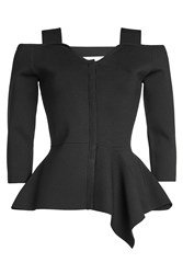 Roland Mouret Knitted Jacket With Cut Out Detail