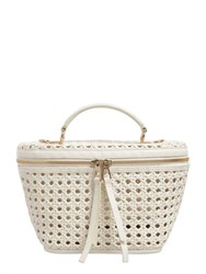 Benedetta Bruzziches Beauty Woven Leather Bag