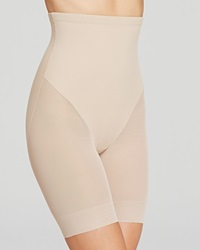 Tc Fine Shapewear Tc Fine Intimates Shorts Sheer High Waist Thigh Slimmer 4229 Nude