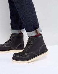 Eastland Lumber Up Leather Boots In Black Black