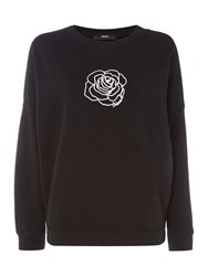 Diesel F Gertrude Z Sweat Shirt Black