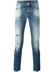 Dondup 'George' Skinny Fit Blue