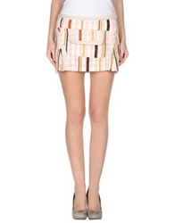 Custo Barcelona Mini Skirts Pink