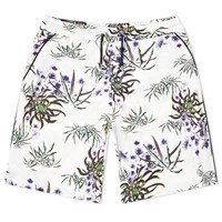 Kenzo Technical All Over Floral Short White