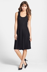 Nic Zoe 'Twirl' Sleeveless Dress Regular And Petite Black Onyx