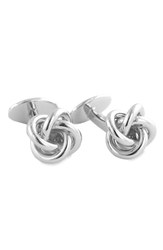 David Donahue Knot Cuff Links Sterling Silver