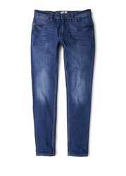 Mango 38353 Slim Fit Dark Wash Jan Jeans Blue