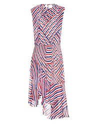 Preen Line Airmail Georgette Midi Dress