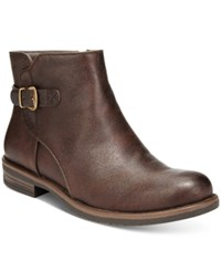 Bare Traps Caine Booties Women's Shoes Brown