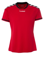 Hummel Stay Authentic Sports Shirt Rot Red