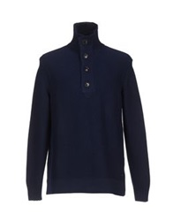 Boss Orange Turtlenecks Dark Blue