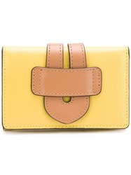 Tila March Two Tone Wallet Yellow
