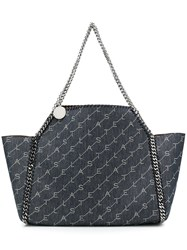 Stella Mccartney Falabella Reversible Tote Bag Blue