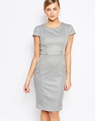 Oasis Pencil Dress Gray