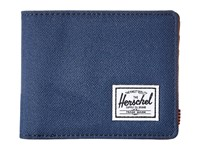 Herschel Hank Rfid Navy Tan Synthetic Leather Wallet Handbags