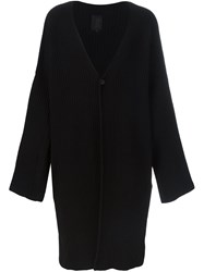 Thom Krom Long Cardigan Black