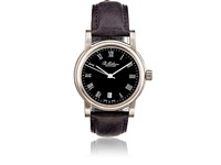 Ole Mathiesen Round Face Watch Black