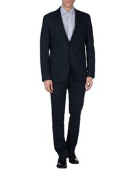 Havana And Co. Suits And Jackets Suits Men Dark Blue