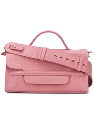 Zanellato Small Satchel Bag Pink