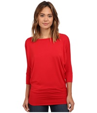 Culture Phit Lara Modal Top Red Women's T Shirt