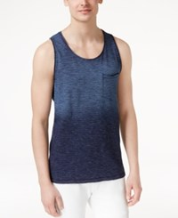 Inc International Concepts Men's Ombre Tie Dye Tank Top Only At Macy's Indigo