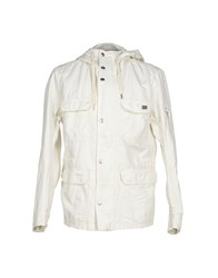 Diesel Coats And Jackets Jackets Men Ivory