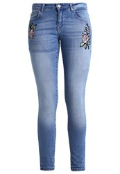 Only Onlcarmen Slim Fit Jeans Light Blue Denim Light Blue Denim