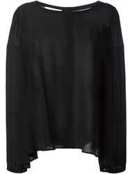 Mauro Grifoni Loose Fit Blouse Black