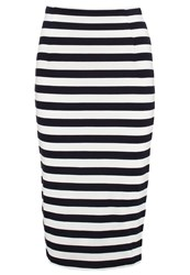 Baukjen Albourne Pencil Skirt Black White