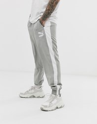 Puma Iconic Track Pant In Grey