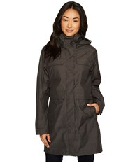 Nau Quintessentshell Trench Coat Caviar Black