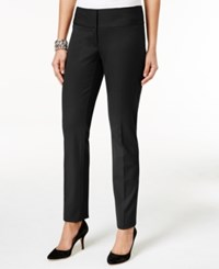 Alfani Petite Skinny Pants Only At Macy's Deep Black