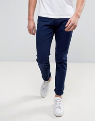 Armani Jeans Slim Fit In Navy Blu Mare Blue