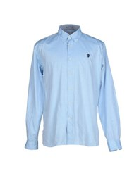 U.S. Polo Assn. U.S.Polo Assn. Shirts Shirts Men Sky Blue