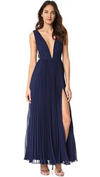 Fame And Partners The Allegra Dress Navy