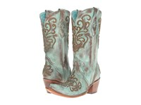 Corral Boots C2990 Tan Turquoise Women's Brown