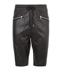Markus Lupfer Faux Leather Shorts Male
